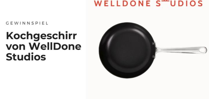 Gewinnt hochwertige Pfanne von WellDone Studios