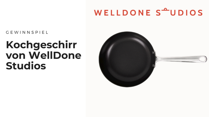WellDone Studios Kochgeschirr - Hochwertige Pfannen & Töpfe für passionierte (Hobby-) Köche
