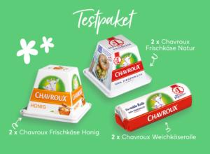 500 Tester für Ziegenkäse von Chavroux gesucht