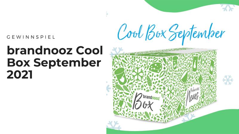 brandnooz Cool Box September 2021