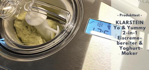 KLARSTEIN Yo & Yummy 2-in-1 Eiscremebereiter & Yoghurt Maker - Leckere Eiscreme & Joghurt selbstgemacht