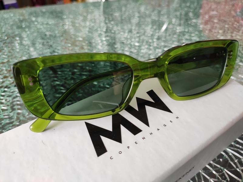 MessyWeekend Sonnenbrillen Grün