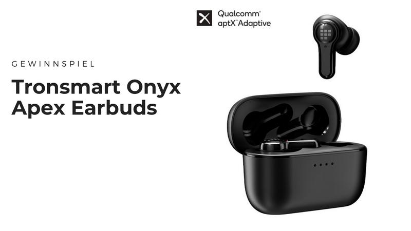 Tronsmart Onyx Apex Earbuds - Fetter Sound auf den Ohren im Gym