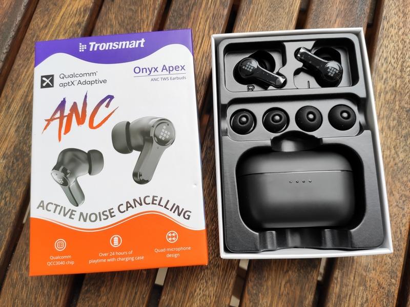 Tronsmart Onyx Apex Earbuds Verpackung
