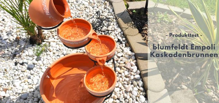 blumfeldt Empoli Kaskadenbrunnen - Mediterranes Flair im eigenen Garten
