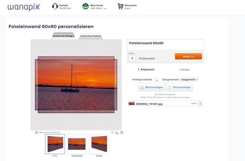 wanapix.de - originelle Fotogeschenke & -erinnerungen selbst gestaltet
