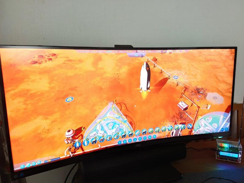 AOC CU34P2A Curved Gaming