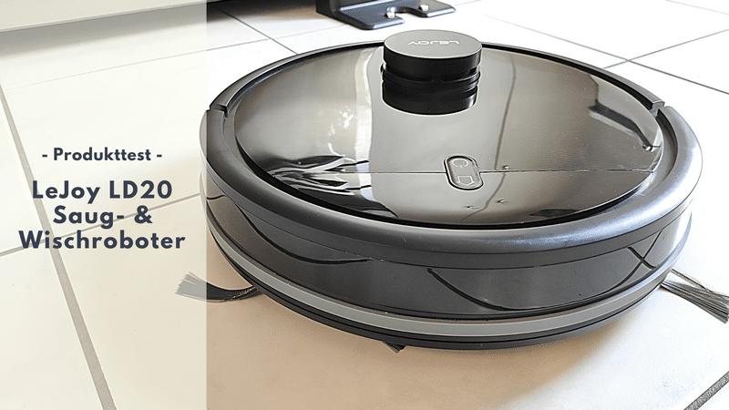 LeJoy LD20 Saug- & Wischroboter - Einstiegsmodell für eine saubere Wohnung