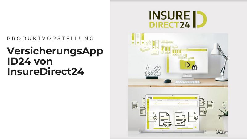 InsureDirect24 - Endlich Ordnung im Versicherungschaos