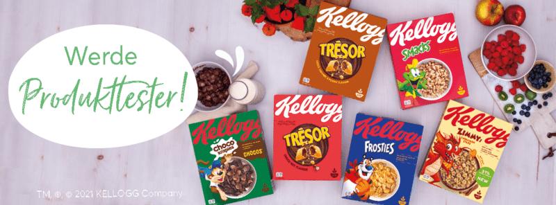 5.000 Tester für die Frühstücks-Vielfalt von Kellogg's® gesucht