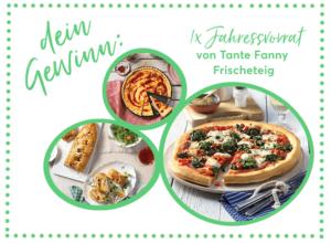 1.500 Tester für Tante Fanny Frischteige gesucht